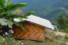 Alloggio presso famiglie che si accampa a Doi Luang Chiang Dao, Tailandia Immagine Stock