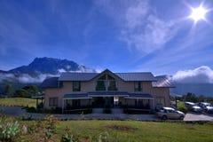 Alloggio presso famiglie il Monte Kinabalu Fotografia Stock