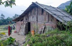 Alloggio presso famiglie vietnamita tradizionale Immagini Stock