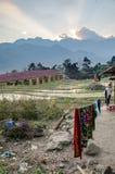 Alloggio presso famiglie vietnamita tradizionale Immagini Stock Libere da Diritti
