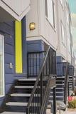 Alloggio residenziale contemporaneo Fotografia Stock