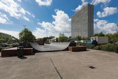 Alloggio residenziale nelle vicinanze di Copenhaghen Fotografia Stock