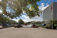 Alloggio residenziale nelle vicinanze di Copenhaghen Immagini Stock
