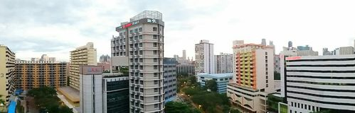Alloggio a Singapore Immagini Stock Libere da Diritti