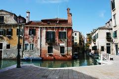 Alloggio tipico di Venezia Immagine Stock Libera da Diritti