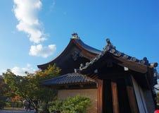 Alloggio tradizionale giapponese a Kyoto Fotografia Stock Libera da Diritti