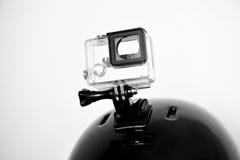 Alloggio vuoto della macchina fotografica di azione Fotografie Stock Libere da Diritti