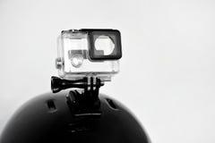 Alloggio vuoto della macchina fotografica di azione Immagini Stock