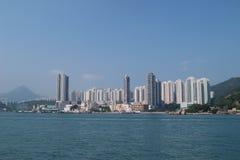 Alloggio in Yau Tong, Hong Kong Immagini Stock