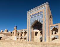 Alloquli Khan Medressa in Itchan Kala - Khiva Royalty Free Stock Photo