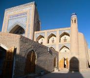 Alloquli Khan Medressa - Khiva - Usbekistan Stockfotografie