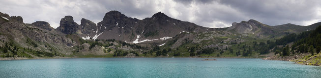 Allos lake Stock Image