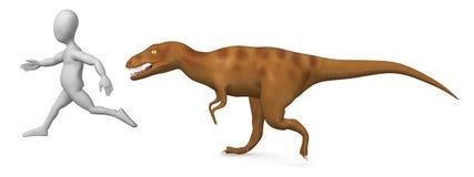 Allosaurus Stock Photo