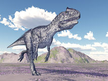 Allosaurus de dinosaure Illustration de Vecteur