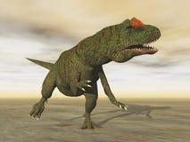 Allosaurus dinosaur - 3D render Stock Photo