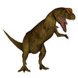 Allosaurus dinosaur roaring - 3D render Stock Photo
