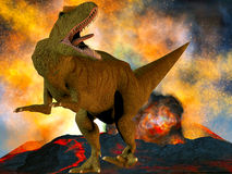 Allosaurus fragilis Royalty Free Stock Photography