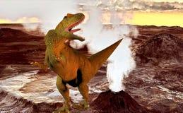 Allosaurus zerbrechlich Stockbild