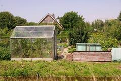 Allotment garden Stock Photo