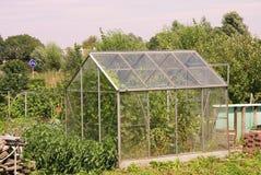 Allotment garden stock image