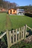 Allotment garden gate Royalty Free Stock Image