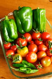Allotment produce Royalty Free Stock Photography