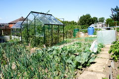 Allotment Royalty Free Stock Photos