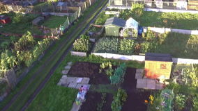Allotment View stock video