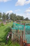 Allotments Royalty Free Stock Photography