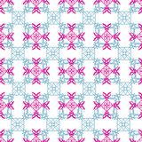 Allover pattern cloth or wallpaper Stock Image