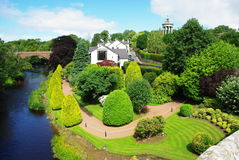 Alloway Scotland. Beautiful Park in Alloway Scotland. In Robbie Burns Counrty Stock Photography