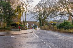 Alloway, The Brig o` Doon Hotel, & The Auld Kirk  South Ayrshire Royalty Free Stock Photography