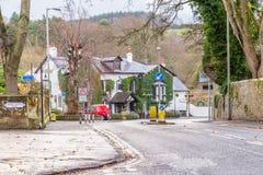 Alloway & The Old Brig o` Doon Hotel South Ayrshire Scotland stock photography
