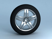 Alloy. Backround picture of a car alloy stock illustration