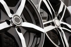 Alloy for car Royalty Free Stock Images