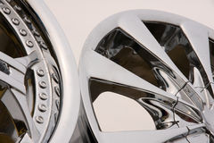 Alloy for car Stock Image