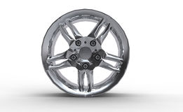 Alloy Car Rim Wheel Stock Image