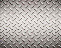 Alloy diamond plate metal Royalty Free Stock Images