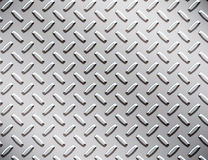 Alloy diamond plate metal Royalty Free Stock Photo
