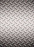 Alloy diamond plate metal royalty free stock image