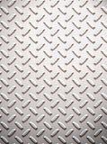 Alloy diamond plate metal stock illustration