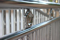 Alloy fence. Is home related Royalty Free Stock Image