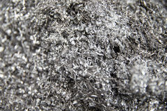 Alloy Filings For Recycling In Engineering Factory Royalty Free Stock Photo