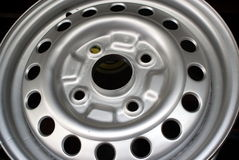 Alloy rim Stock Photo