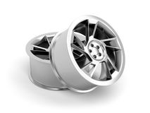 Alloy rims Royalty Free Stock Photos