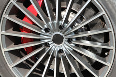 Alloy wheel Stock Images