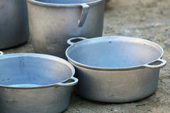 Alloy spots. Alloy spot for cooking and use Stock Image