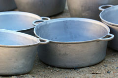 Alloy spots. Alloy spot for cooking and use Royalty Free Stock Photography