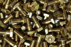 Alloy steel bolts stock photos