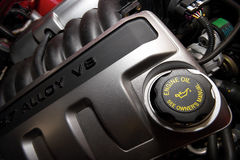 Alloy V8 Engine Stock Photography
